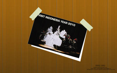 Visit Indonesia Year 2010 Card by BadDevilTune87