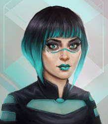 Teal by Ilyich