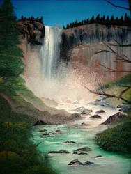 Vernal Falls by Patryn-Sartan