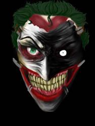 New 52 Joker WIP by Treebuzza