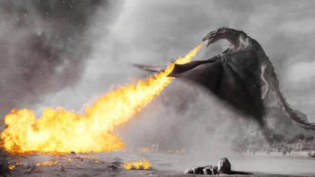 Dracarys - Game of Thrones Fanart by itrustyoutokillme