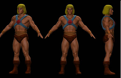 Filmation He-man by JCCabs