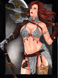 Red Sonja by leiaolliver