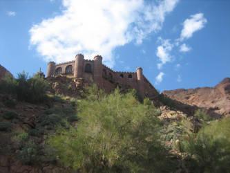 Castle on the Rock by Rikkanna