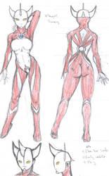 Ultragirl Honey by GaraKan