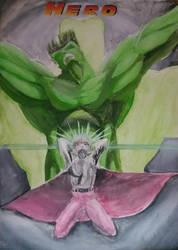 Hero Hulk 'cover' 1996 by GaraKan
