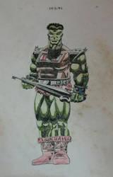 hE-hULK! 1992 by GaraKan