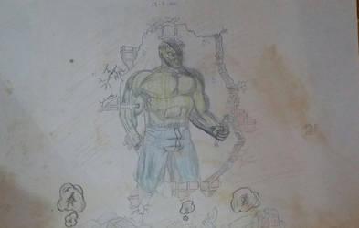 Hulk oldy 1991 by GaraKan
