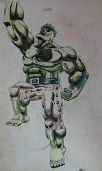 Hulk Jumps 1992 by GaraKan