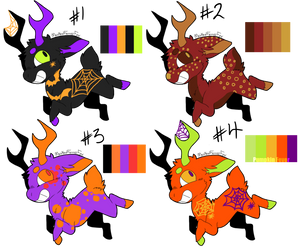 Deer Pallet Adopts (closed) by ParentOfTheDragons