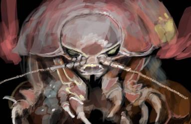 Isopod speedpaint by fallout161