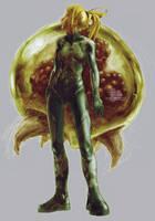 Zero Suit Samus by fallout161
