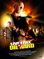 Die hard poster entry by owdesigns