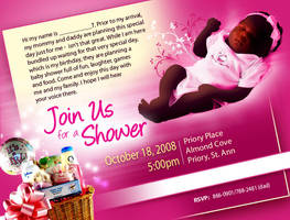 Baby shower invitation by owdesigns
