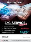 NISSAN AC Specials 3x20cm by owdesigns