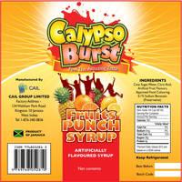 Calypso burst label by owdesigns