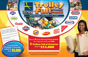 Facey Trolley full Promo poste by owdesigns