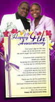 Our 4th Anniversary by owdesigns