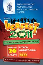 ucafest 2011 flyer by owdesigns