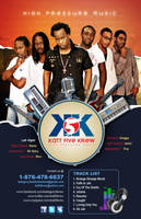k5k band poster by owdesigns