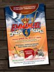 Emmanuel Gospel Concert Flyer by owdesigns
