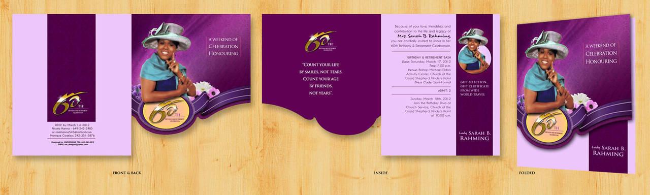 Birthday invitation by owdesigns
