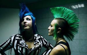 deathrock + punk rock by AnoliNicure