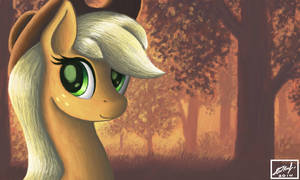 AJ in the Evening Forest by IoannTulynkin