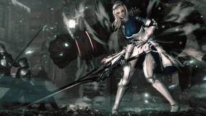 A Knight's Duty by Sculp2