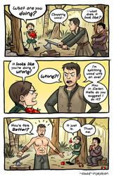 ARYA-x-Gendry  - ASoIaF / Game of Thrones by Azad-Injejikian