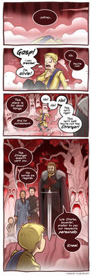 Joff with his head! - Game of Thrones by Azad-Injejikian