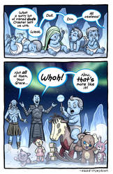 White Crawler - ASoIaF Game of Thrones by Azad-Injejikian