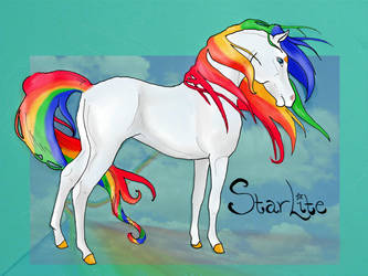Starlite Re-coloured by FindAnotherWay2Dance