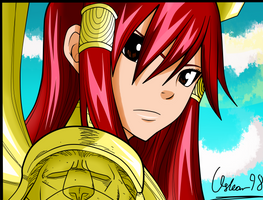 Fairy Tail: Erza 322 by Oskar-Draws