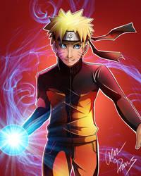 Naruto by Oskar-Draws