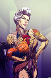 Chicken Couture. by RedStarship