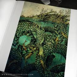 River Dragon by FlyingViperArt