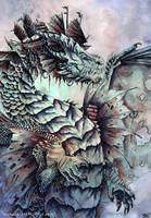 Estuary Dragon by FlyingViperArt