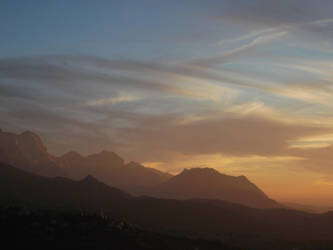 DjurDjura's Sunset by NamdYaIllust