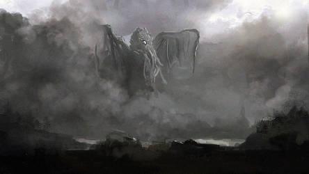 Cthulhu by Kaelakov