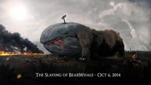 Bear Whale by Kaelakov