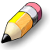 Pencil 2D Icon