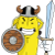 Banana Warrior Icon by linux-rules