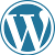 Wordpress.com Icon by linux-rules