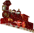 Victorian Steam Locomotive (machine) Icon