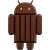 Android 4.4. Kitkat Icon by linux-rules