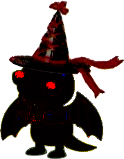 Black Cthulhu with Hat by linux-rules
