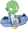 Billy (Martin Mystery) Icon big by linux-rules