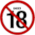 18 age restriction (3) Icon mid by linux-rules
