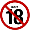 18 age restriction (3) Icon big by linux-rules